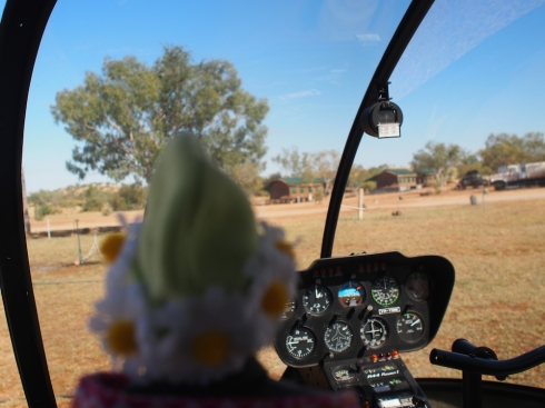 Nan is so excited! She can't wait to see the Bungle Bungles from the air.