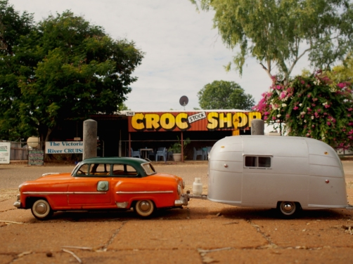 Croc shop Timber Creek community.